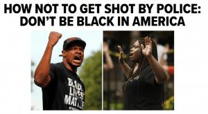 美国白人警方与黑人不平等冲突 (1)