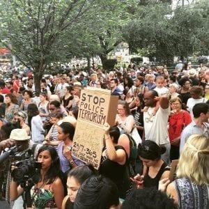 美国白人警方与黑人不平等冲突 (3)
