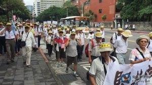 反污名、要尊严 93台湾军人节大游行17