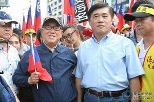 反污名、要尊严 93台湾军人节大游行18
