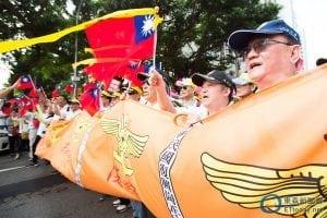 反污名、要尊严 93台湾军人节大游行22