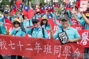 反污名、要尊严 93台湾军人节大游行3