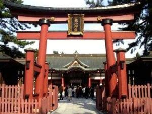 日本神社鸟居